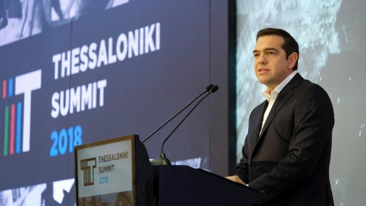 Αλέξης Τσίπρας, μιλώντας στην 3η Σύνοδο της Θεσσαλονίκης που διοργανώνει η Γενική Συνέλευση του Συνδέσμου Βιομηχανιών Βορείου Ελλάδος