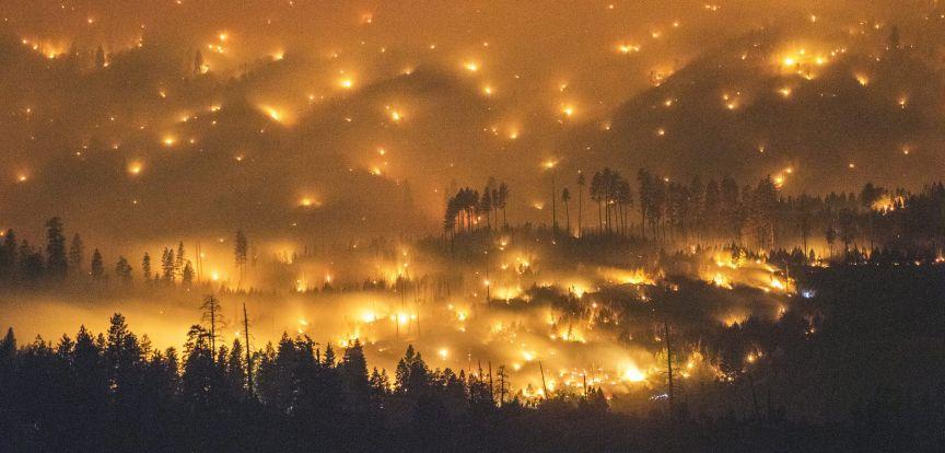 Καλιφόρνια, πυρκαγιές