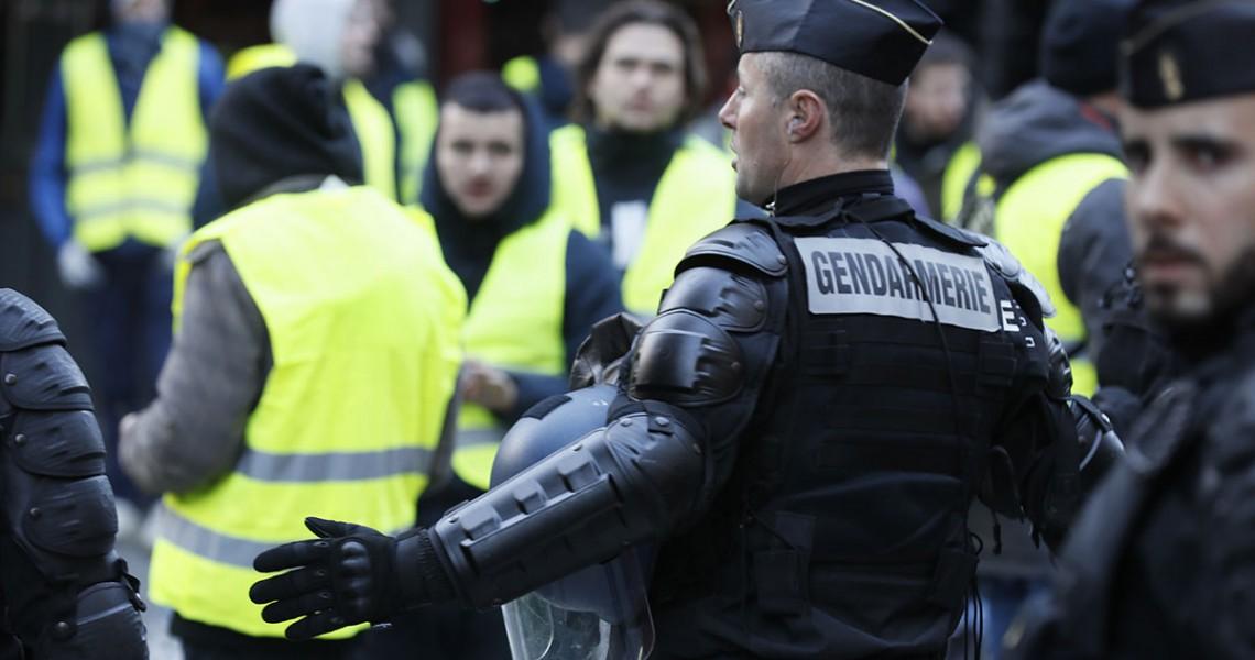 Κίτρινα Γιλέκα,διαδηλώσεις, Παρίσι