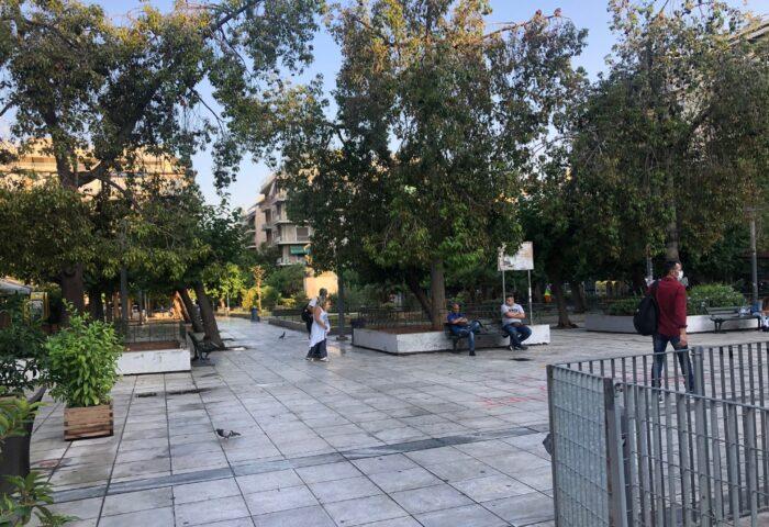 επιχείρηση καθαριότητας- πλατεία Βικτωρίας4