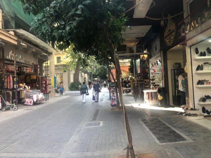 Πεζόδρομος Αγίου Μάρκου – καταστήματα 4