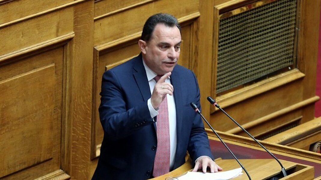 Undersecretary of Digital Government George Georgantas in Athens 9.84 for  the vaccination program   ATHENS 9,84