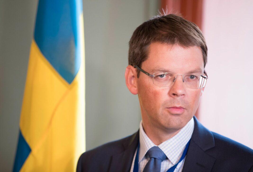 Norwegian Ambassador to Greece, Frode Overland Andersen