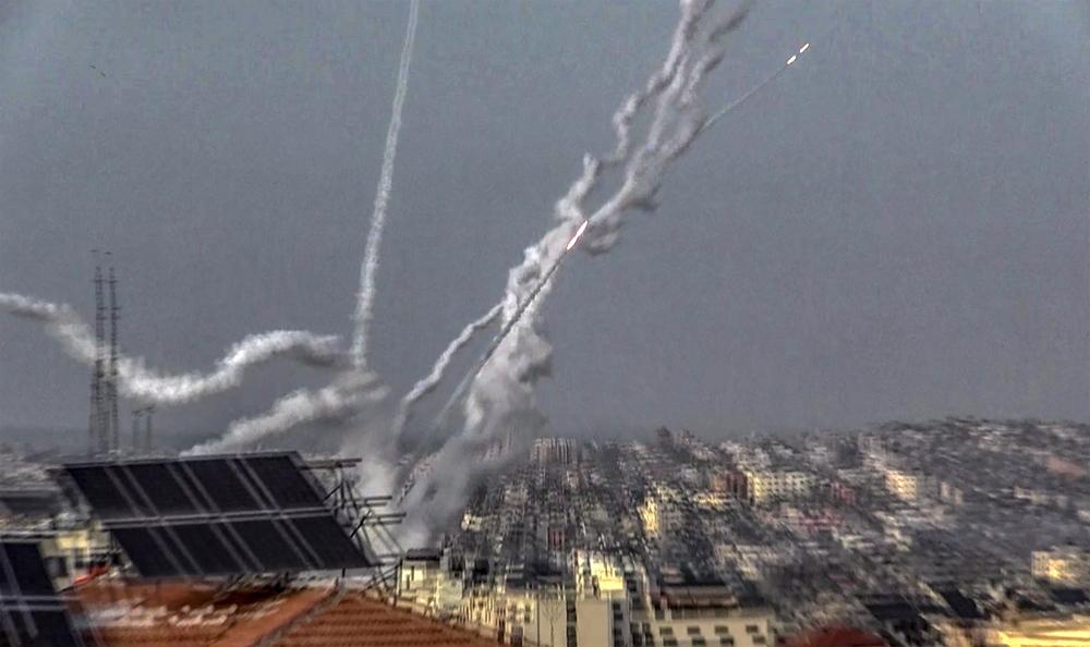 Ρουκέτες Ισραήλ Παλαιστίνη Λωρίδα της Γάζας