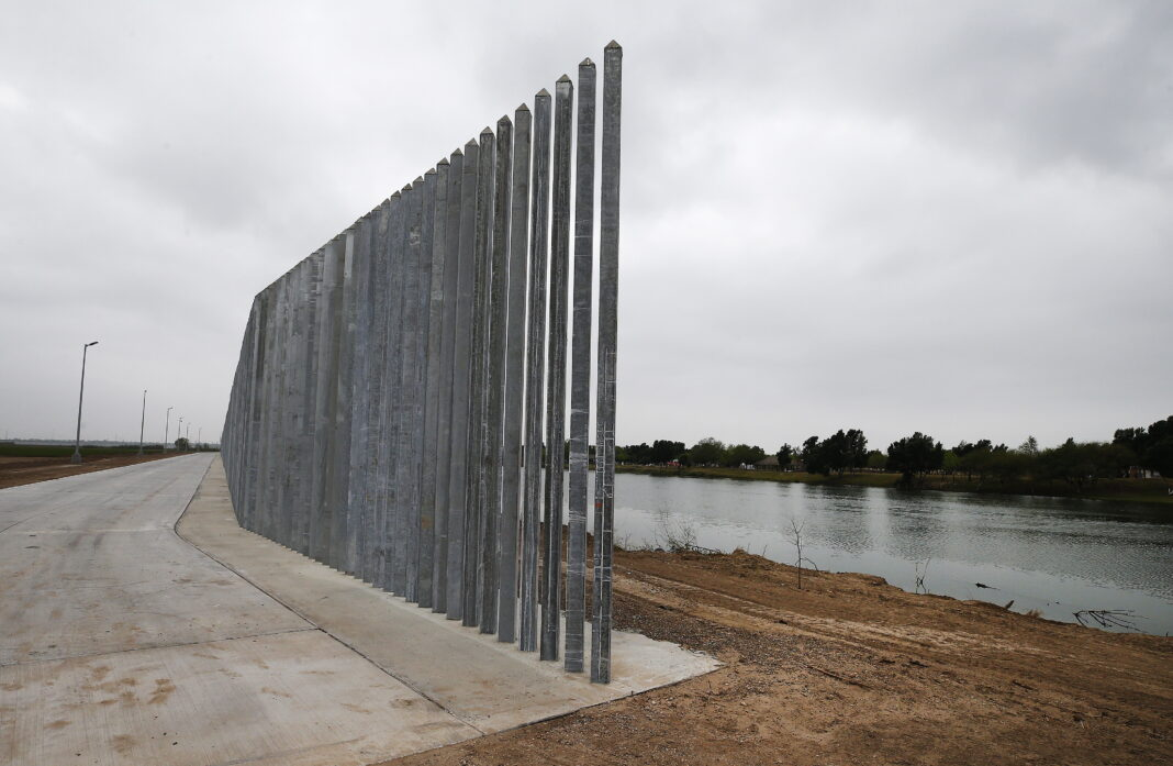 ΗΠΑ Μεξικό τοίχος σύνορα