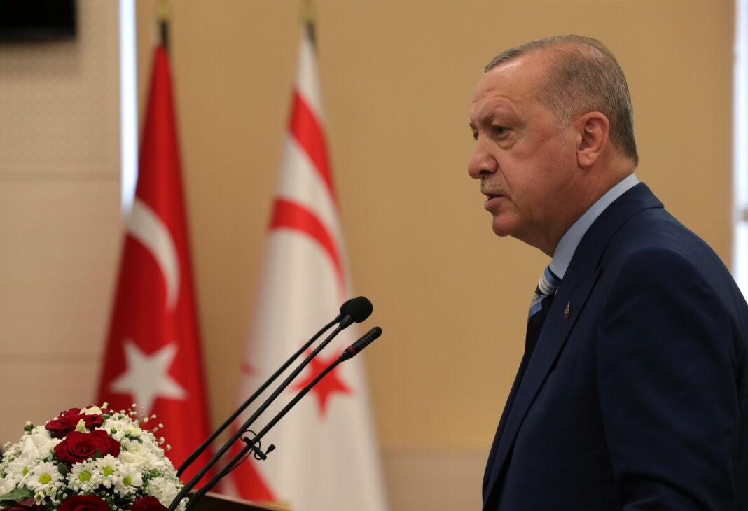 Ερντογάν Κύπρος τουρκοκύπριοι ψευδοκράτος